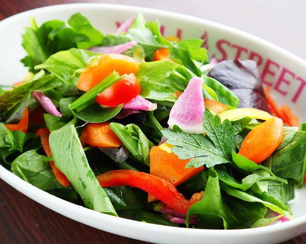オーガニック野菜サラダ